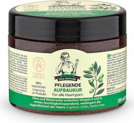 Masca de par Oma Gertrude nutritiva reparatoare cu ulei de struguri si masline, 300 ml