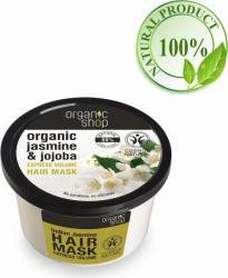 Masca de par Organic Shop  Bio pentru Volum cu Iasomie indiana si Jojoba 250 ml