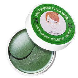 Masca hydrogel cu alge marine pentru ochi ten uscat efect anticearcane antiinflamator si hidratare intensa Beyoutiful 60 bucati Masti, exfoliant, tonice