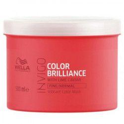 Masca pentru par vopsit cu fir fin-normal Wella Professionals Invigo Brilliance 500 ml Masca