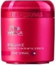 Masca de par Wella Professionals Brilliance Fine 150ml Masca