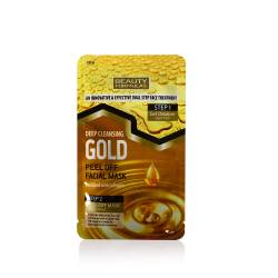 Masca de fata Gold Peel Off in 2 pasi Masti, exfoliant, tonice
