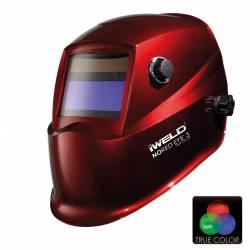 Masca de sudura automata NORED Eye 3 TRUE COLOR rosie Accesorii Sudura