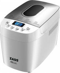 Masina de facut paine Zass ZBM 04 1.5 kg 850 W 15 programe Alb