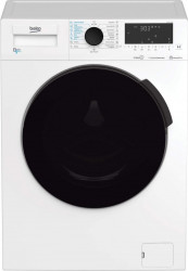 Masina de spalat rufe cu uscator Beko HTV8716X0 8 kg spalare 5 kg uscare 1400 RPM Clasa A SteamCure HomeWhiz Inverter Alb