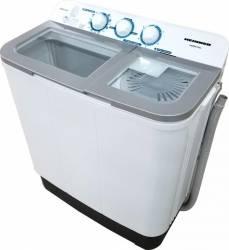 Masina de spalat rufe semiautomata Heinner HSWM-63SL 6 Kg 3.6 Kg Alb-Argintiu Masini de spalat rufe