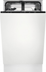 Masina de spalat vase incorporabila Electrolux EEA22100L 9 seturi 6 programe Clasa F Motor Inverter AirDry 45 cm Alb