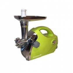 Masina de tocat electrica tava inox 1800 w hausberg verde Masini de tocat