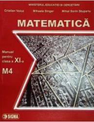 Matematica cls 11 M4 - Cristian Voica Mihaela Singer Mihai Sorin Stupariu