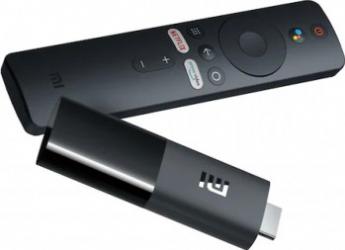 Mediaplayer Xiaomi Mi TV Stick Full HD Chromecast Control Voce Bluetooth Wi-Fi HDMI Negru PFJ4098EU