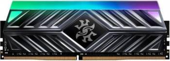 Memorie ADATA XPG Spectrix D41 Titanium Gray RGB 8GB DDR4 3000MHz CL16 Memorii