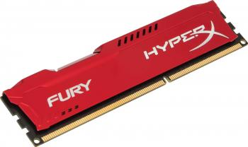 Memorie HyperX Fury Red 8GB DDR3 1866 MHz CL10 Memorii