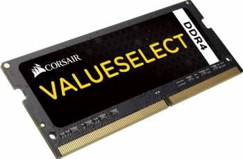 Memorie Laptop Corsair ValueSelect 8GB DDR4 2133MHz SODIMM CL15 1.2V Memorii Laptop