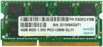 Memorie Laptop SODIMM Apacer 4gb DDR3 1600MHz Cl11 1.5V Memorii Laptop