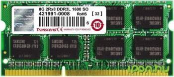 Memorie Laptop SODIMM Transcend JetRam Apple Series 8GB 1600MHz DDR3 CL11 1.35V