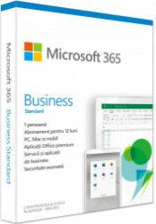 Microsoft 365 Business Standard Retail Romanian Subscriptie 1 an - 1 utilizator Windows-Mac iOS si Android