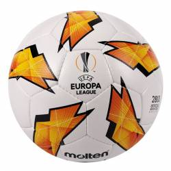 Minge fotbal Molten F5U2810 antrenament cusuta manual piele PU replica UEFA Europa LEAGUE
