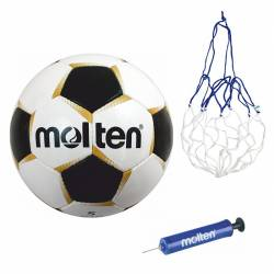 Minge Fotbal Molten PF540 pompa si plasa