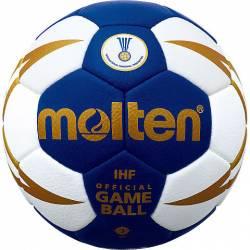 Minge handbal Molten oficiala IHF H3X5000 numarul 3 barbati + pompa DHP21