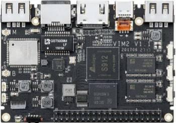 Mini PC Khadas VIM2 PRO Amlogic S912 DDR4 3GB+32GB WIFI AP6359SA