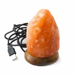 Mini Lampa de Sare cu USB Multicolor Natural Corpuri de iluminat