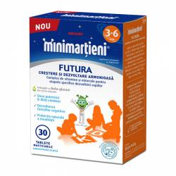 Minimartieni Futura 3-6 Ani 30tbl Walmark