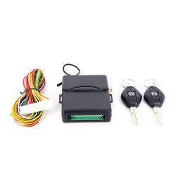 Modul inchidere centralizata Carguard MIC004 cu 2 telecomenzi tip cheie fixa 12v Alarme auto si Senzori de parcare