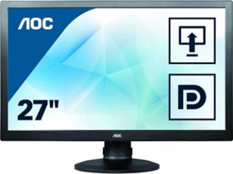 Monitor AOC Gaming 27inch E2770PQU FHD LED Monitoare LCD LED Refurbished
