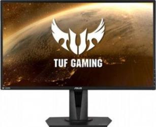 Monitor Gaming LED 27 ASUS TUF VG27BQ WQHD 165Hz 0.4ms FreeSync Monitoare LCD LED