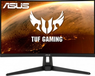 Monitor Curbat Gaming LED 27 inch ASUS TUF VG27VH1B Full HD 165Hz 1ms MPRT FreeSync HDR10 Black Monitoare LCD LED