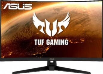 Monitor Gaming Curbat LED 31.5 ASUS TUF Gaming VG32VQ1B WQHD FreeSync Premium 165Hz Negru Monitoare LCD LED
