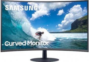 Monitor gaming curbat LED VA Samsung LC27T550FDUXEN Full HD 27inch 75Hz FreeSync Negru