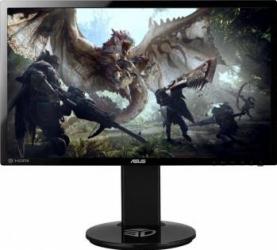 Monitor Gaming LED 24 ASUS VG248QE Full HD 144Hz 1ms 3D Vision Ready Negru Resigilat Monitoare LCD LED