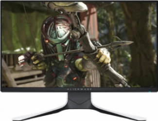 Monitor Gaming LED 24.5 Dell Alienware AW2521HFLA IPS Full HD G Sync FreeSync HDR400 240Hz 1 ms Alb Negru