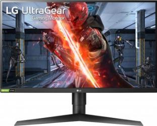 Monitor Gaming LED 27 LG UltraGear 27GN750-B FullHD 1ms Negru G-Sync 240Hz