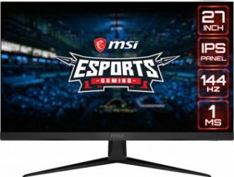 Monitor Gaming LED 27 MSI G271 FullHD IPS 144Hz 1ms Negru Monitoare LCD LED
