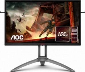 Monitor Gaming LED 27 AOC AGON 3 WQHD 165Hz 1ms FreeSync 2 HDR Negru-Rosu