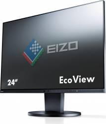 Monitor LED 24.1 Eizo EV2455 WUXGA 5ms IPS Black Monitoare LCD LED
