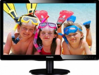 Monitor LED 19.5 Philips 200V4QSBR Full HD Negru Monitoare LCD LED
