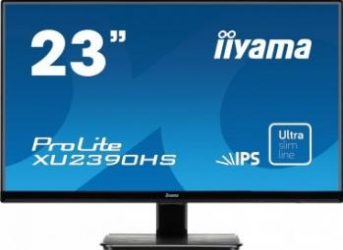 Monitor LED 23 iiyama ProLite XU2390HS-B1 Full HD 5ms Monitoare LCD LED