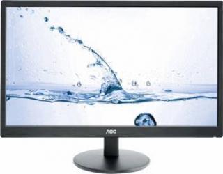 Monitor LED 23.6 AOC M2470SWH Full HD 5ms GTG Negru Monitoare LCD LED
