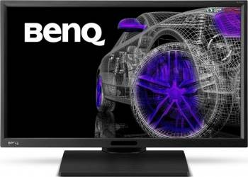 Monitor LED 23.8 Benq BL2420PT QHD 5ms GTG Negru Resigilat Monitoare LCD LED Refurbished