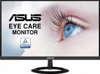 Monitor LED 24 ASUS VZ249HE Full HD IPS 5ms Ultra-slim Frameless Flicker Free Monitoare LCD LED