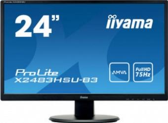 Monitor LED 24 Iiyama X2483HSU-B3 FullHD Boxe Monitoare LCD LED