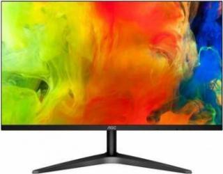 Monitor LED IPS AOC 27 inch 27B1H Wide Full HD FrameLess Flicker-Free HDMI Negru Monitoare LCD LED