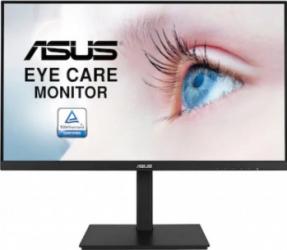 Monitor LED 27 inch ASUS VA27DQSB Full HD 75Hz 5ms Adaptive-Sync Flicker Free Black Monitoare LCD LED