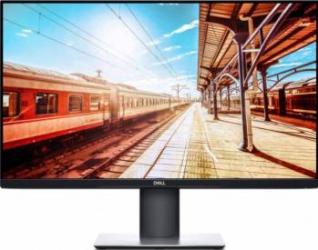 Monitor Dell Professional P2719H LED 27 inch 8 ms 60Hz Full HD IPS Ultrathin Black Monitoare LCD LED