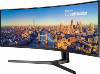 Monitor Curbat Ultrawide LED 49 Samsung LC49J890DKUXEN DHD 144Hz 5ms Boxe