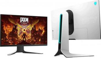 Monitor Gaming LED 27 Dell Alienware AW2720HFA IPS Full HD G-Sync FreeSync 240Hz 1ms Negru Alb