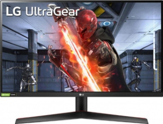 Monitor Gaming LED 27 LG UltraGear 27GN600-B FullHD 1ms FreeSync Premium 144Hz Negru Monitoare LCD LED